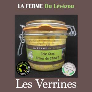 Produits en Verrines